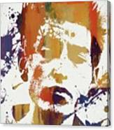 Young Bob Dylan Canvas Print
