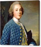 Young Boy Percy Wyndham Canvas Print