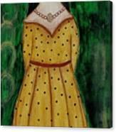 Young Frida Kahlo Series 1 Canvas Print
