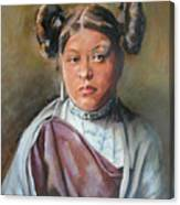 Young Hopi Girl Canvas Print