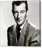 Young John Wayne, Hollywood Legend Canvas Print