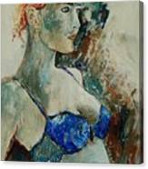 Young Lady 56 Canvas Print