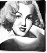Young Marilyn Canvas Print