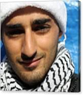 Young Palestinian Man Canvas Print