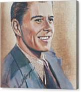 Young Ronald Reagan Canvas Print