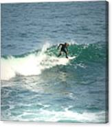 Young Surfers Four Canvas Print