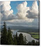 Youngs Bay And Clouds Canvas Print