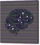 Your Brain On Bad Tv Canvas Print