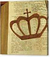 Your God Reigns Canvas Print