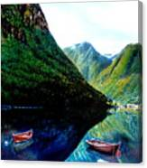 Your Life Is An Island Separated From All Other Islands And Continents Regardless Of How Many Boat Canvas Print