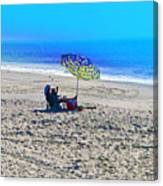 Your Own Private Beach Canvas Print