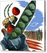 Your Victory Garden Counts More Than Ever Canvas Print
