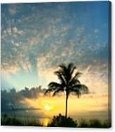 You're Never Alone With A Sunrise Canvas Print