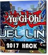 Yu Gi Oh Duel Links Hack Canvas Print