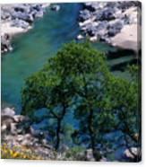 Yuba River In Spring Canvas Print