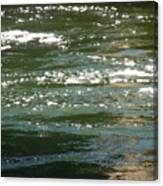 Yuba River Reflections Canvas Print