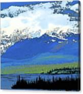 Yukon Mountain Range 3 Canvas Print
