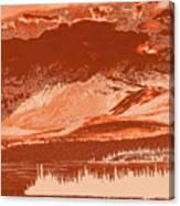 Yukon Mountain Range 5 Canvas Print