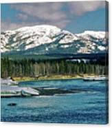 Yukon River Canvas Print