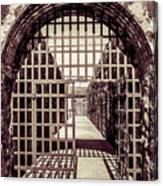 Yuma Territorial Prison Gate Canvas Print