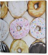 Yummy Donuts Canvas Print