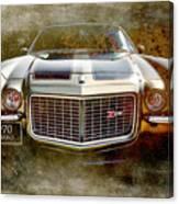 Z Car Canvas Print