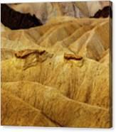 Zabriskie Point, Death Valley Canvas Print