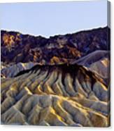 zabriskie point waves PM glow two Canvas Print