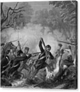 Zachary Taylor , 1784-1850 Canvas Print