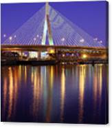 Zakim At Twilight II Canvas Print