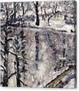 Zamecky Rybnik Canvas Print