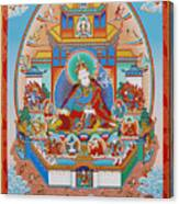 Zangdok Palri Canvas Print