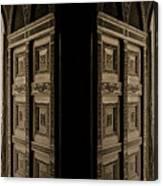 Zanzibar Doors Canvas Print