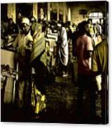 Zanzibar Fish Market Canvas Print