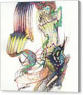 Zappa Baton Canvas Print