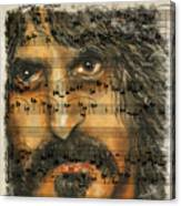 Zappa The Walz  Canvas Print