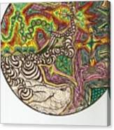 Zapping Warps Canvas Print