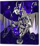 Zazen Jazz Canvas Print