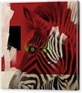 Zebra 4.0 Canvas Print
