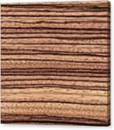 Zebrawood - Natural Abstract Canvas Print