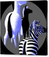 Zebredee Canvas Print