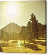 Zeehan Golf Course Canvas Print