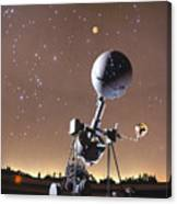 Zeiss Planetarium Projector Canvas Print