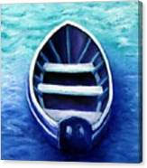 Zen Boat Canvas Print
