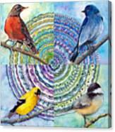 Zen Circle Canvas Print