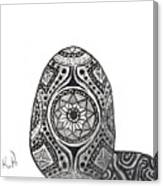 Zen Egg Canvas Print