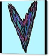 Zen Hearts In Betweens Canvas Print