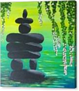Zen Time Canvas Print