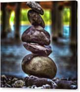 Zen Under The Dock Canvas Print