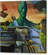 Abe City Zephyr Canvas Print